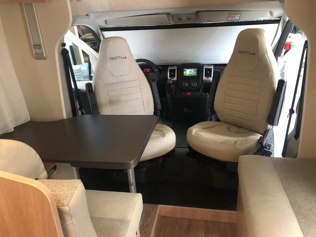 Autocaravana Giottiline 395