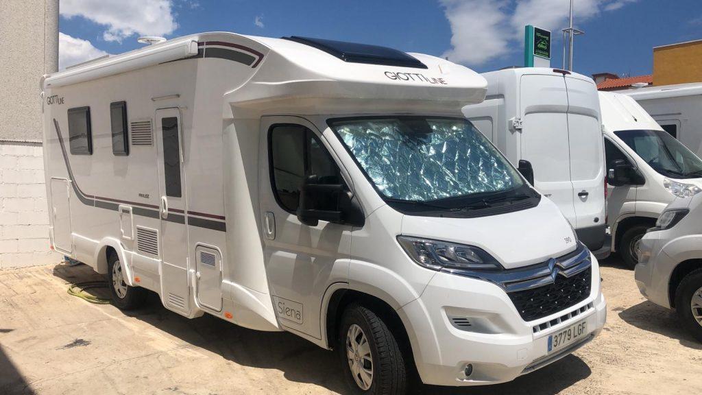 Autocaravana Giottiline 390 390