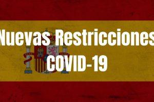 Nuevas restricciones de entrada en España
