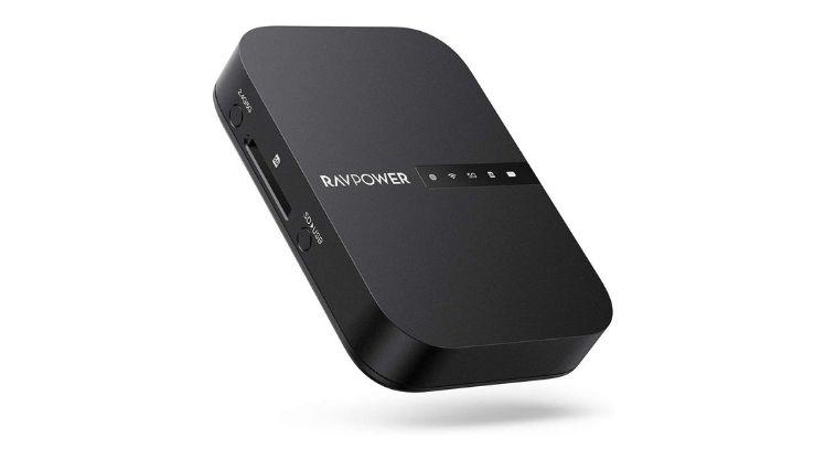 RAVPower FileHub Router Wifi