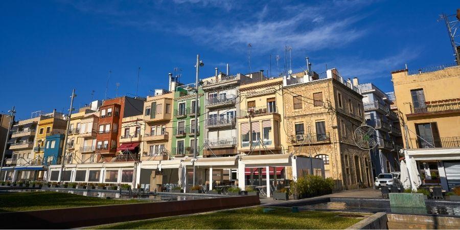 Barrio El Serallo Tarragona