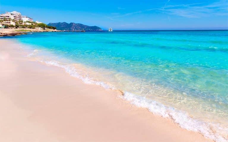 mejor playas de mallorca cala millor