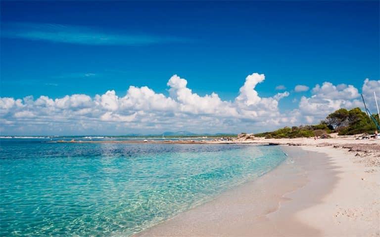 mejor playas de mallorca es trenc